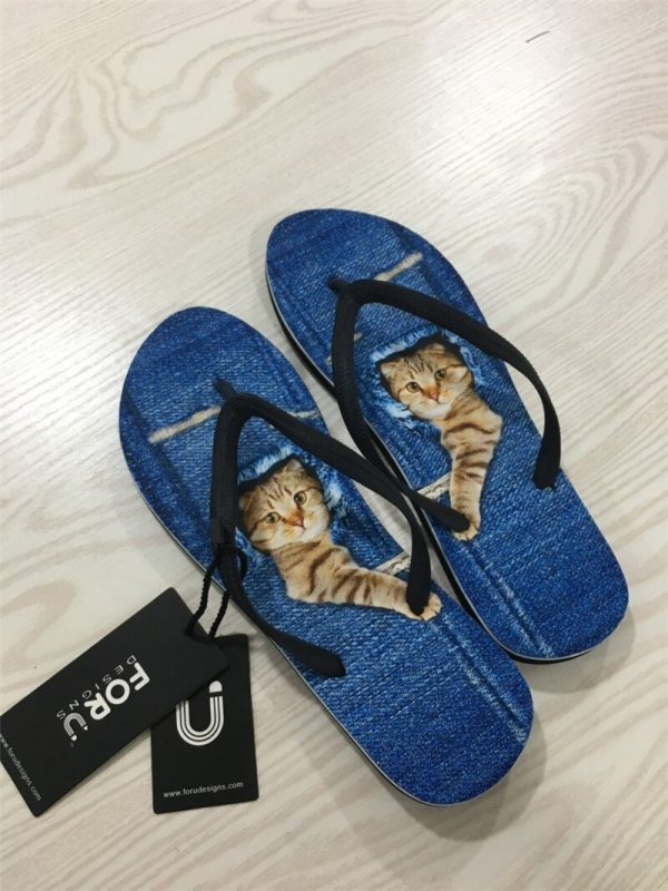 FORUDESIGNS Summer Men Slippers African Design Soft Soles Non-slip Male Casual Beach Flip Flops Shoes Outside Flats Dropshipping 5