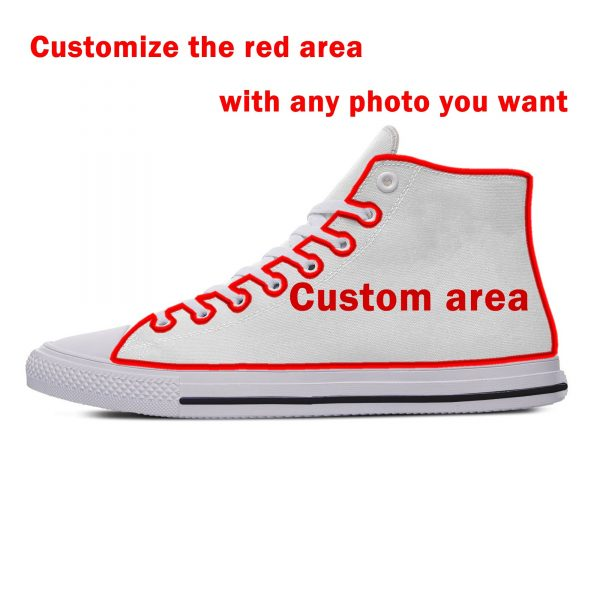 AFRICAN DASHIKI ADINKRA KENTE Hot Fashion Popular Funny Canvas Shoes High Top Lightweight Breathable 3D Print Men women Sneakers 5
