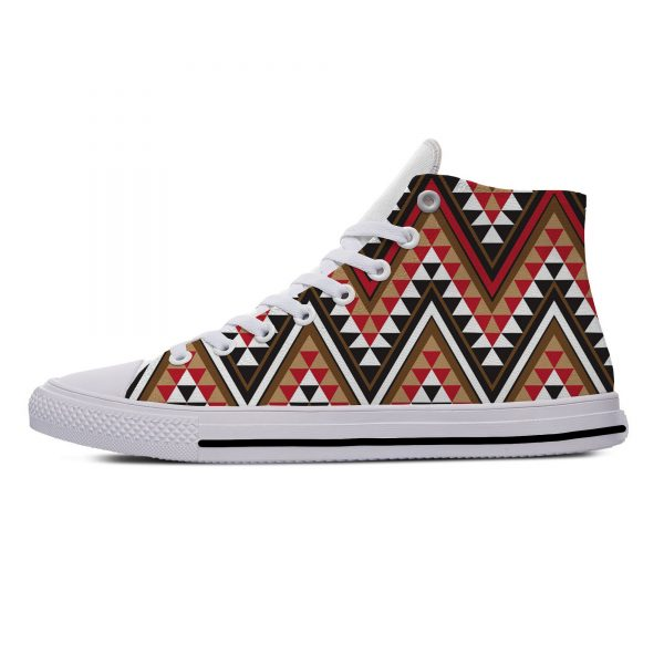AFRICAN DASHIKI ADINKRA KENTE Hot Fashion Popular Funny Canvas Shoes High Top Lightweight Breathable 3D Print Men women Sneakers 1